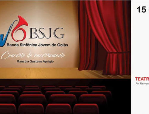 Banda Sinfônica Jovem de Goiás: Concerto de Encerramento